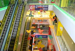 Отделочные работы в торговом центре